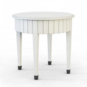 arte brotto table 3d model