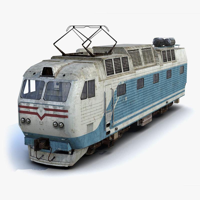 3ds locomotive rusty