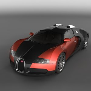 bugatti veyron 3d max