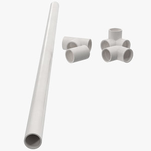 different pvc fittings 5 3d 3ds