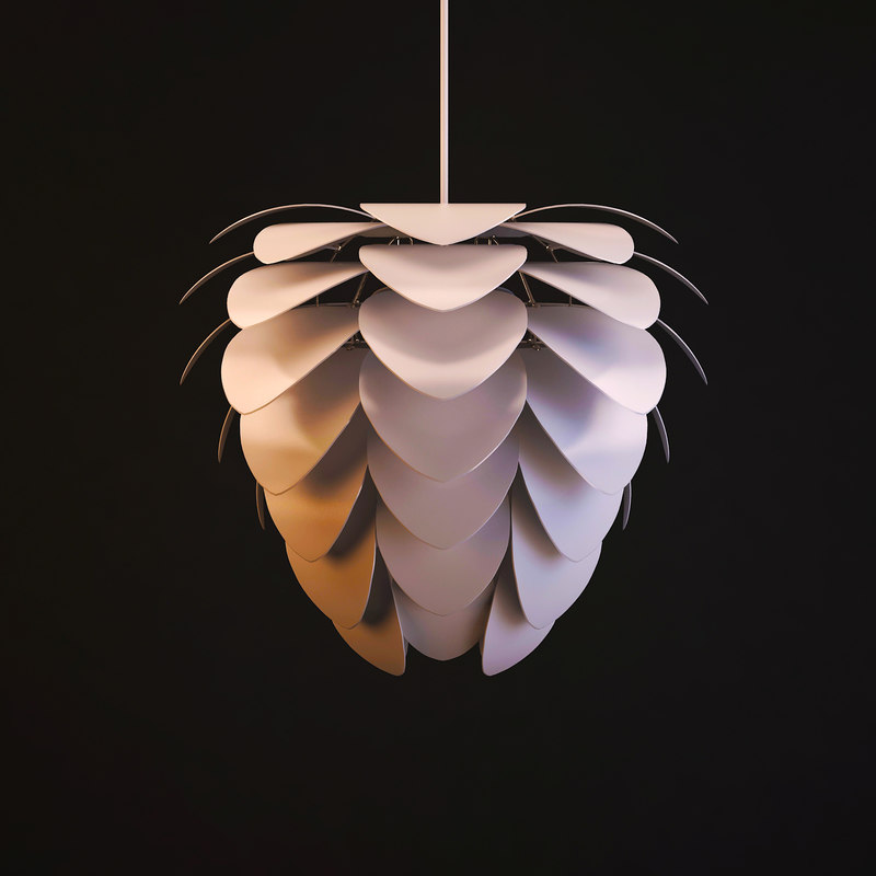 lamp petal chandelier 3d max