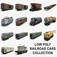 Rail Cars Collection