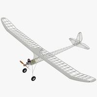 3dsmax rc plane engine