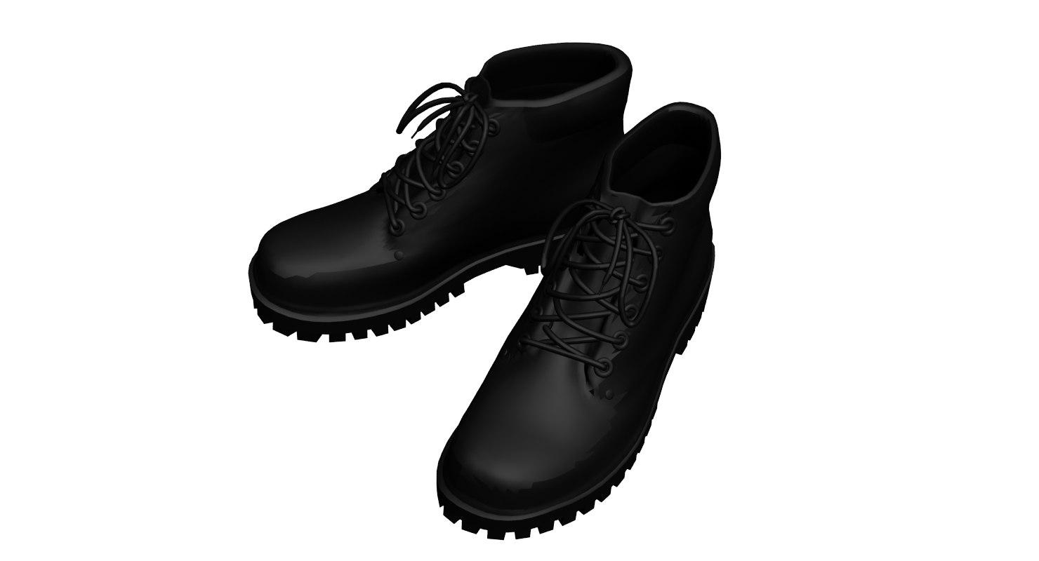 3d max boots