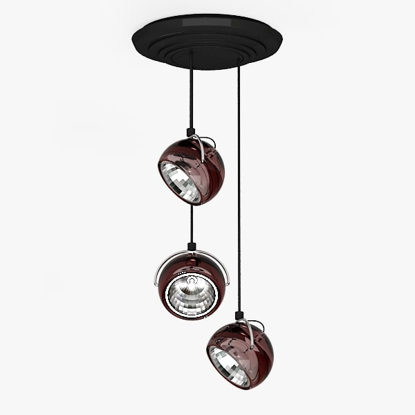 3d lamp adjustable model