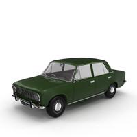 3d car vaz-2101