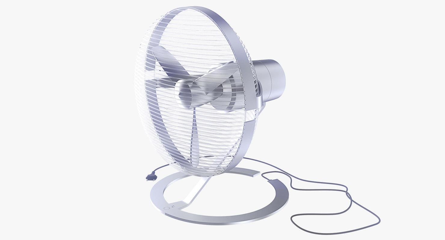 electric fan 3d model