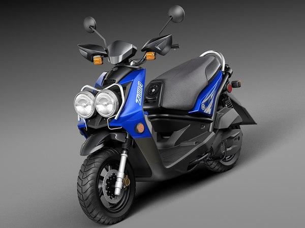 3d 2015 scooter yamaha