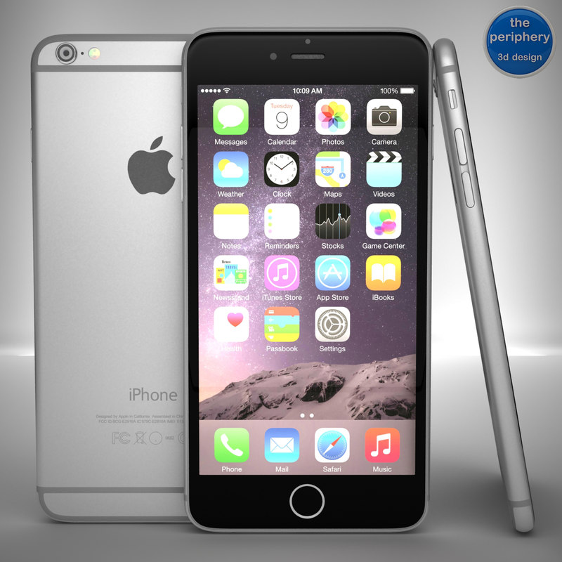 apple iphone 6 space 3ds