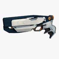 Sci Fi Gun Pistol