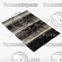 Arte Espina 8111-65 Black and white rug