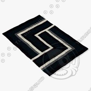 3d arte espina 4071-68 black model