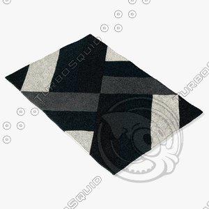 arte espina 4133-68 black 3d 3ds