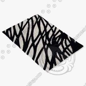 arte espina 5050-73 black 3d model