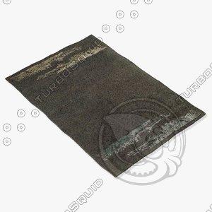 arte espina 8010-35 black 3d model