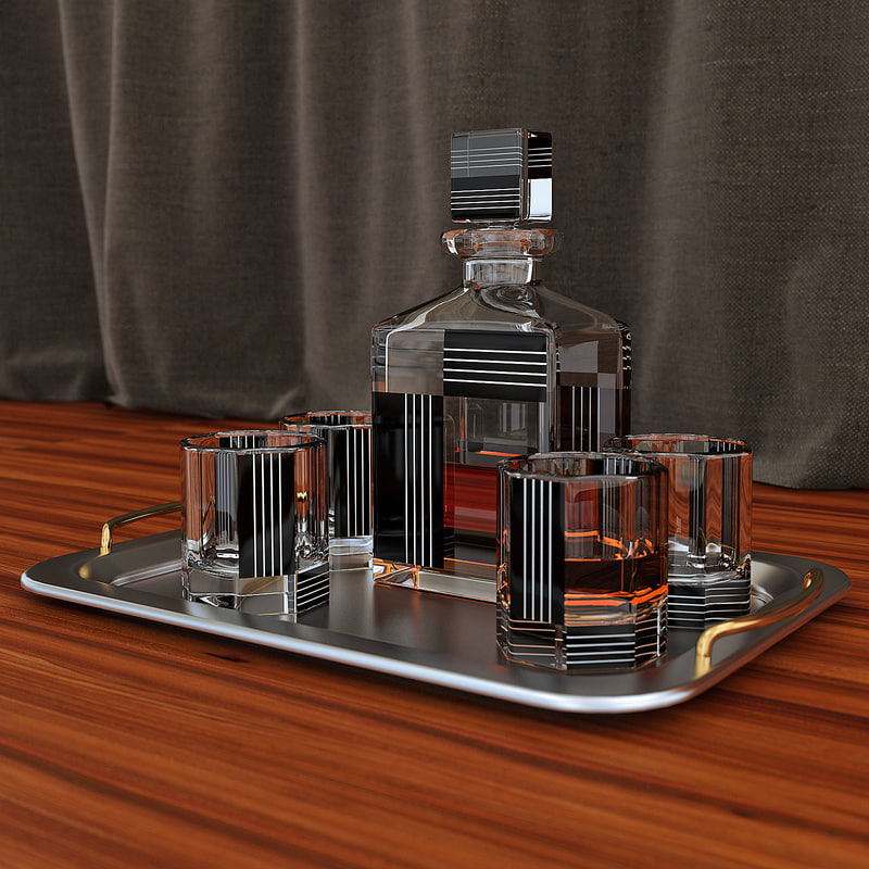 whisky 3d max
