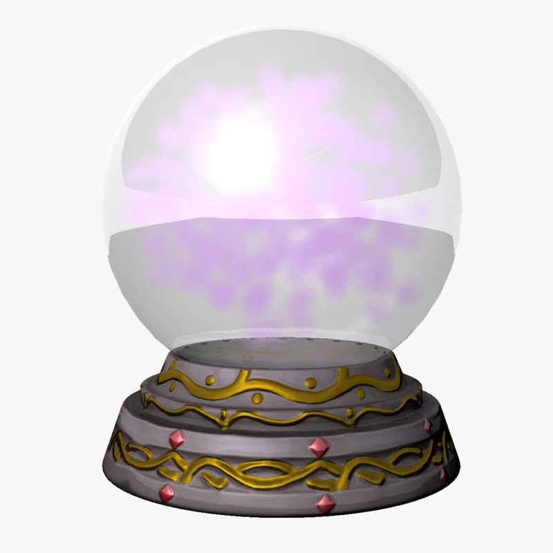 crystal ball 3d model