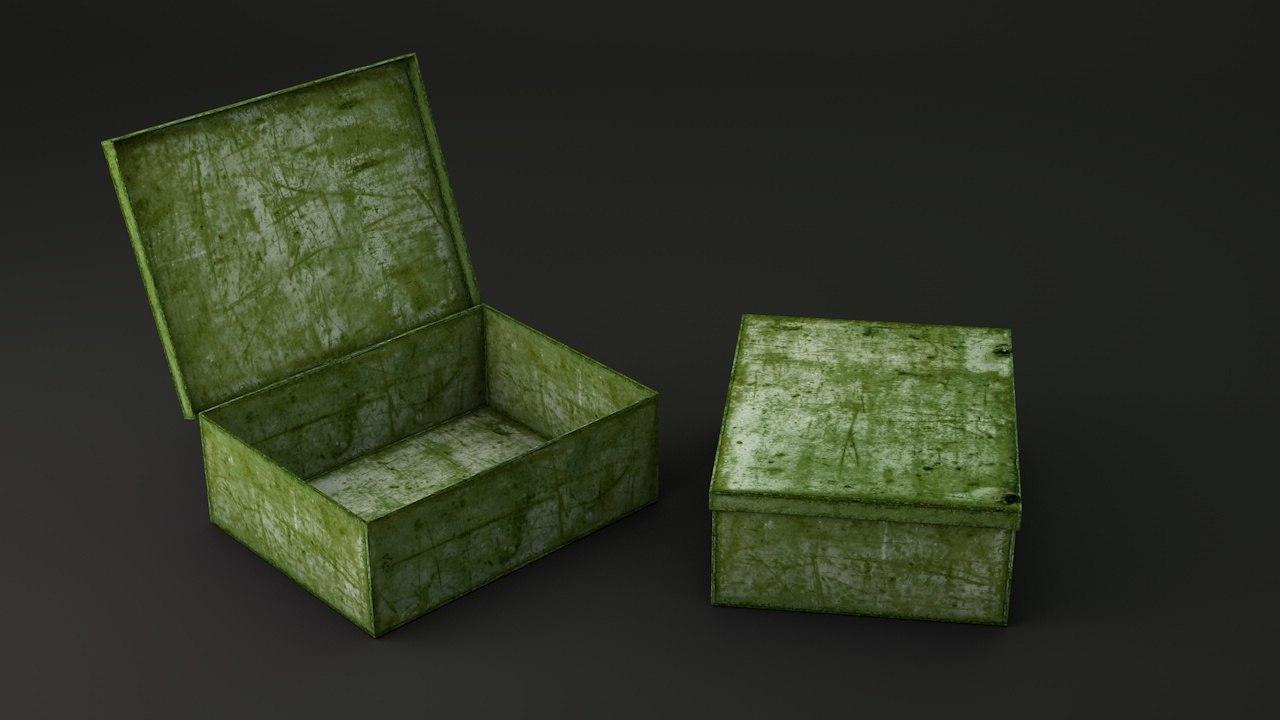 metal box 3ds