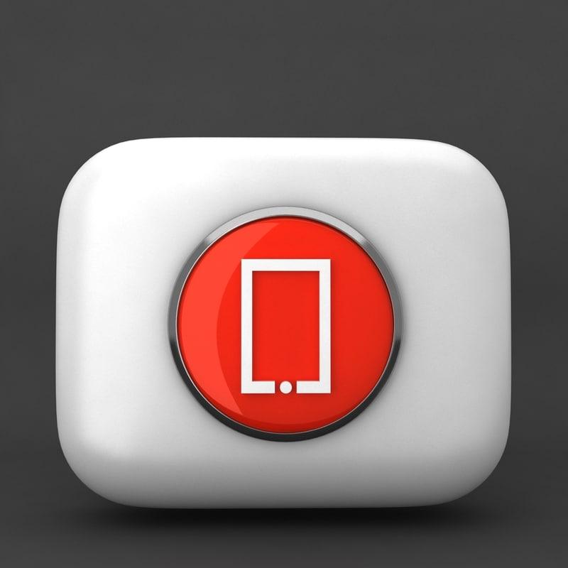 web icon obj