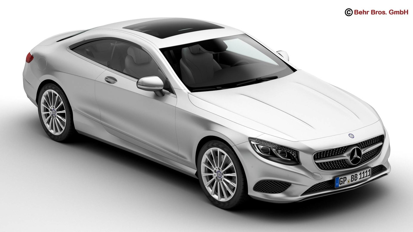 mercedes s class coupe 3d ma