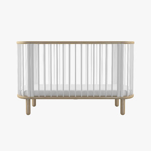 3ds baby cot bed