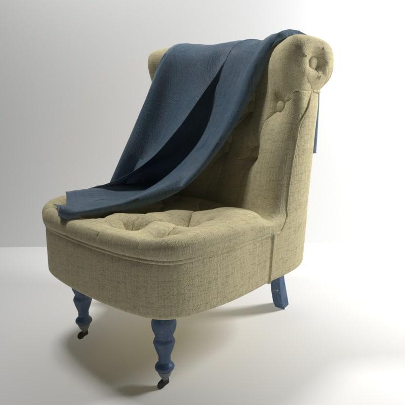 3d hima chair