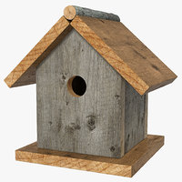 birdhouse modeled nature max
