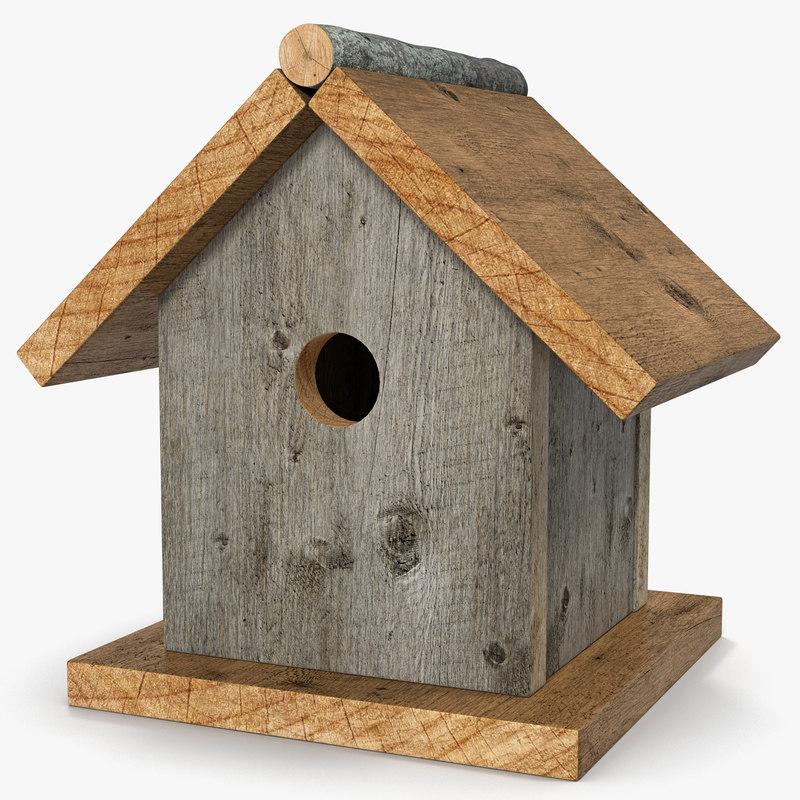 birdhouse modeled nature max