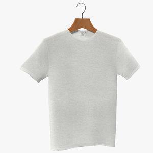 hanging t shirt 3d model