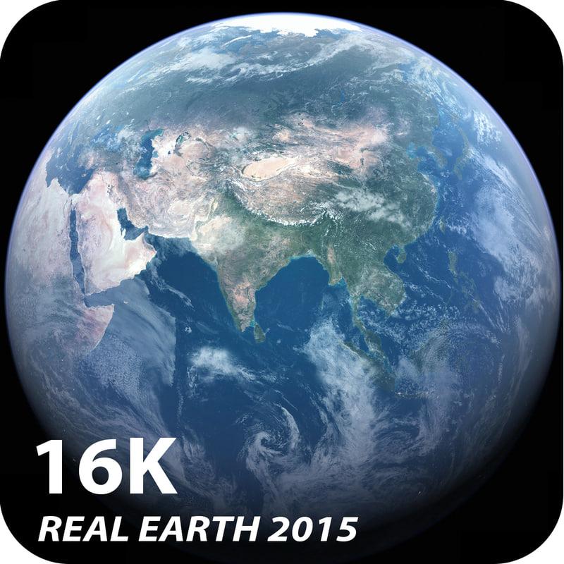 photorealistic earth 3d obj