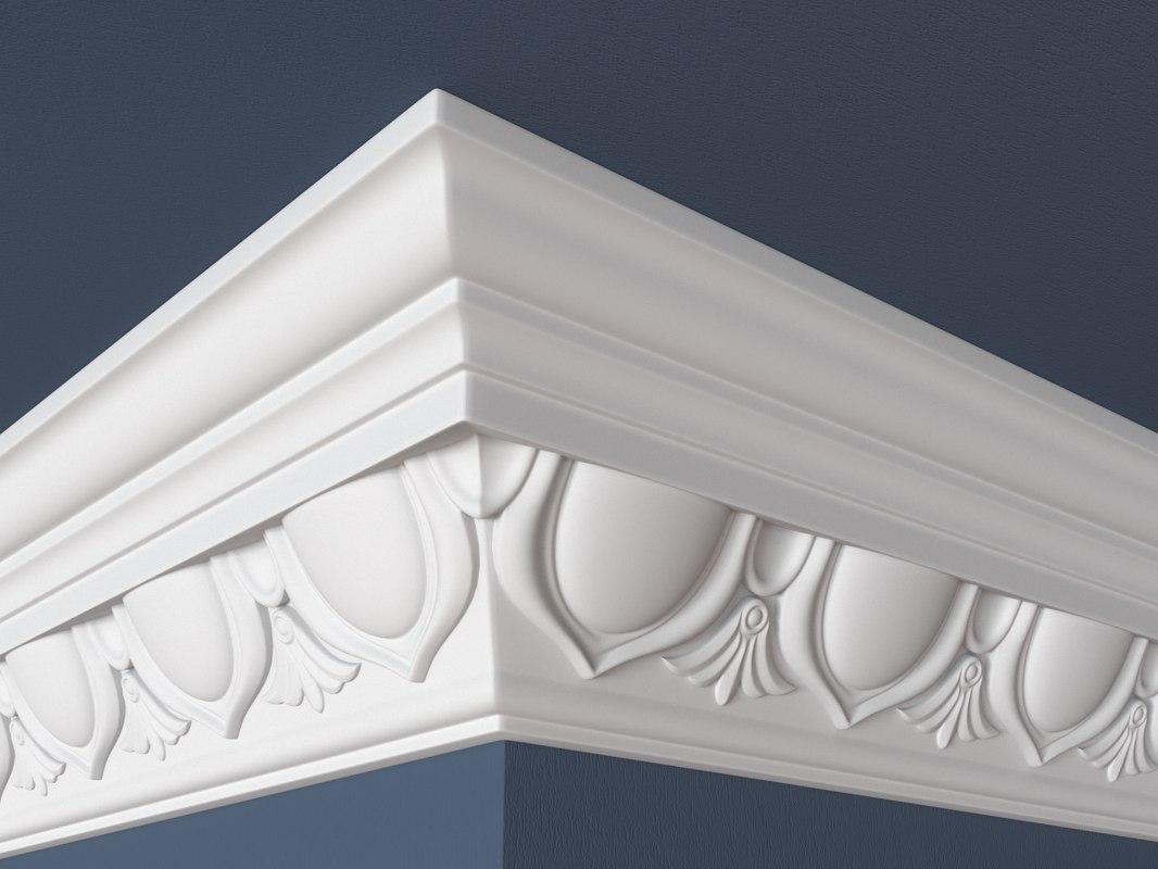3ds max decorative molding