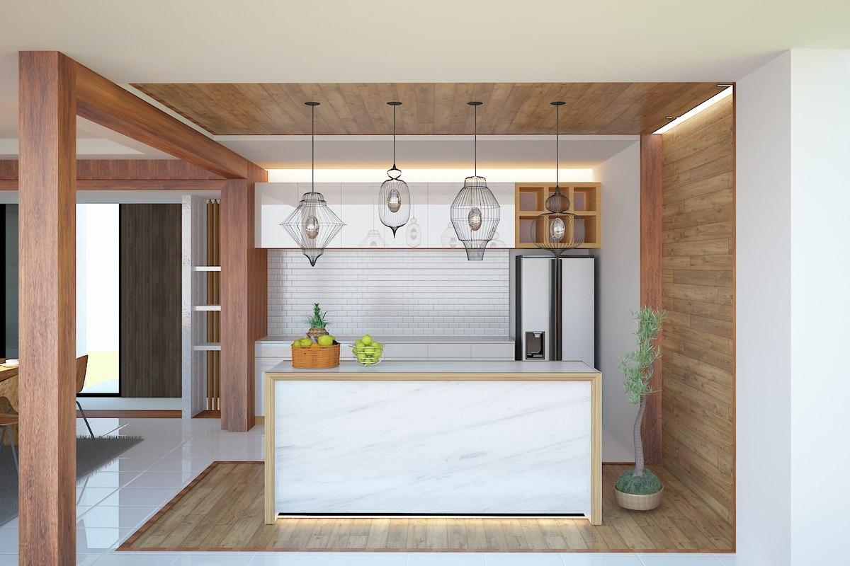 kitchen interior 3d max