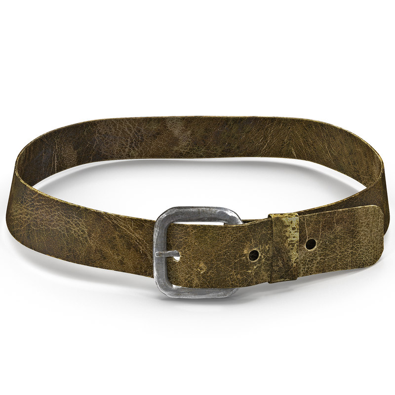3ds max medieval leather belt