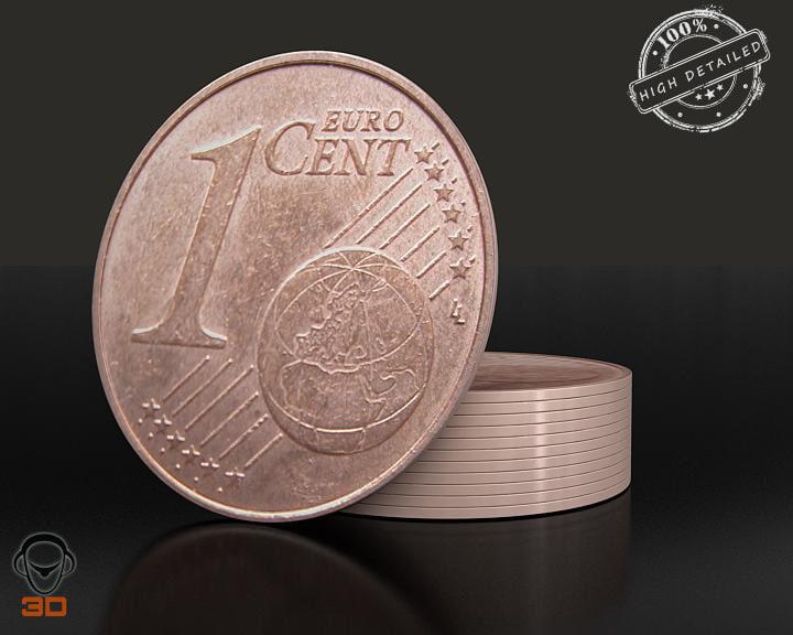 3d euro cent