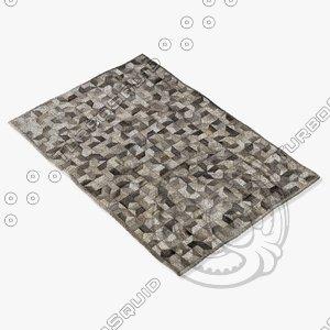 max boconcept cowhide rug 106071006790