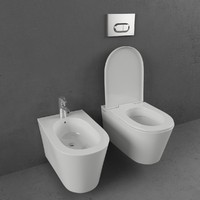 Toilet and bidet Vitra Matrix