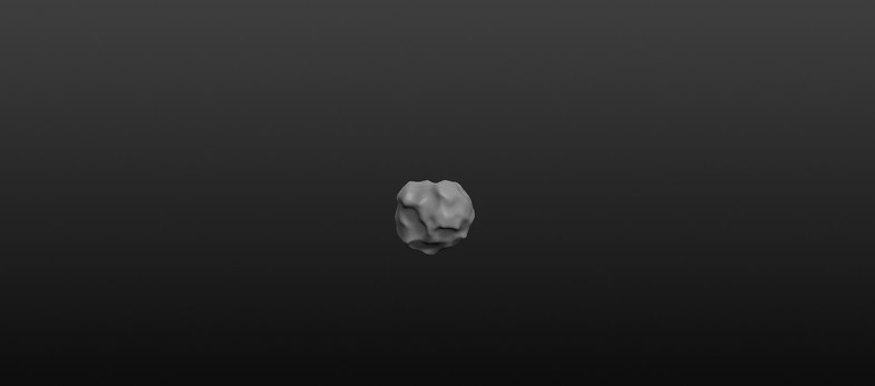 meteorite rocks 3d model