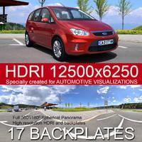 Parking 2 HDRI panorama
