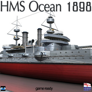 3ds hms ocean 1898 world war