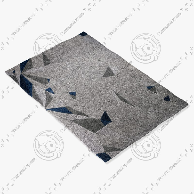 3d model boconcept lion rug 106071007580