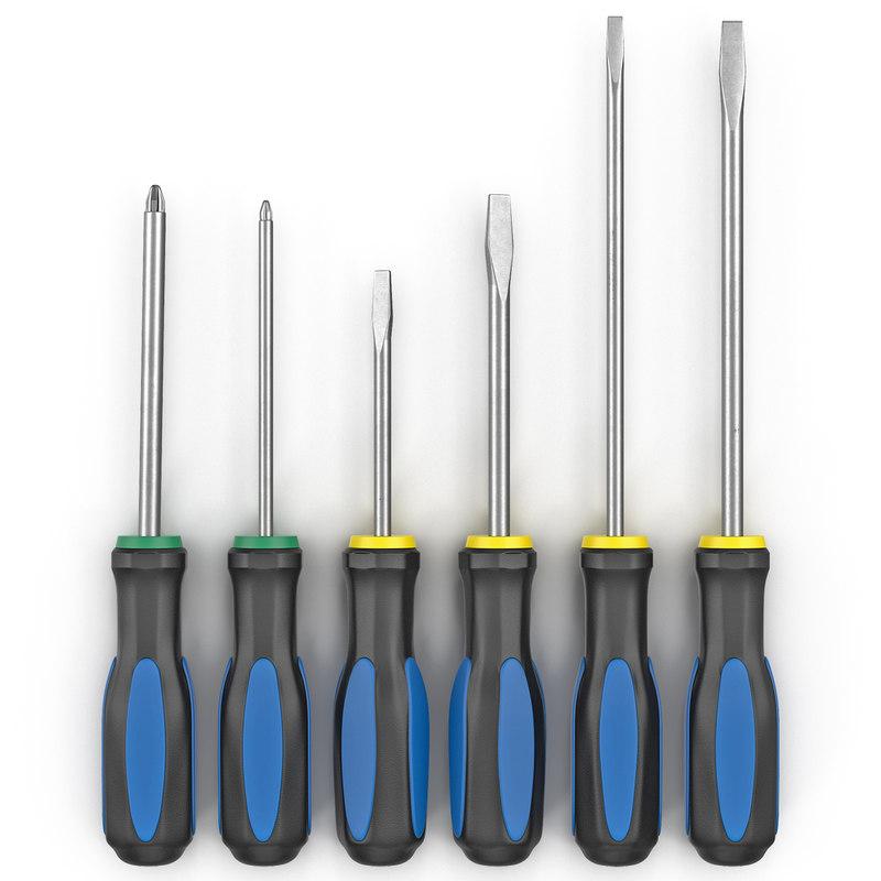 6 piece screwdriver set max
