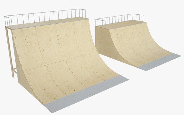 3d skate ramp