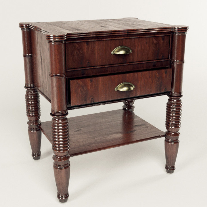 max larry deco bedside table