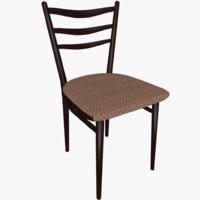 chair hall 3d model