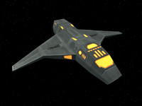 Heavy Bomber Spacecraft