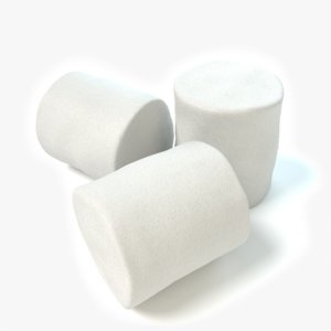 3d marshmallows