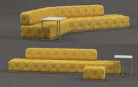 designer divan 3d model