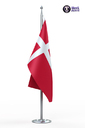 Denmark flag 3D models