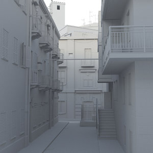 italy old 3d model