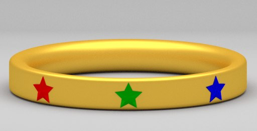 golden ring star 3ds free